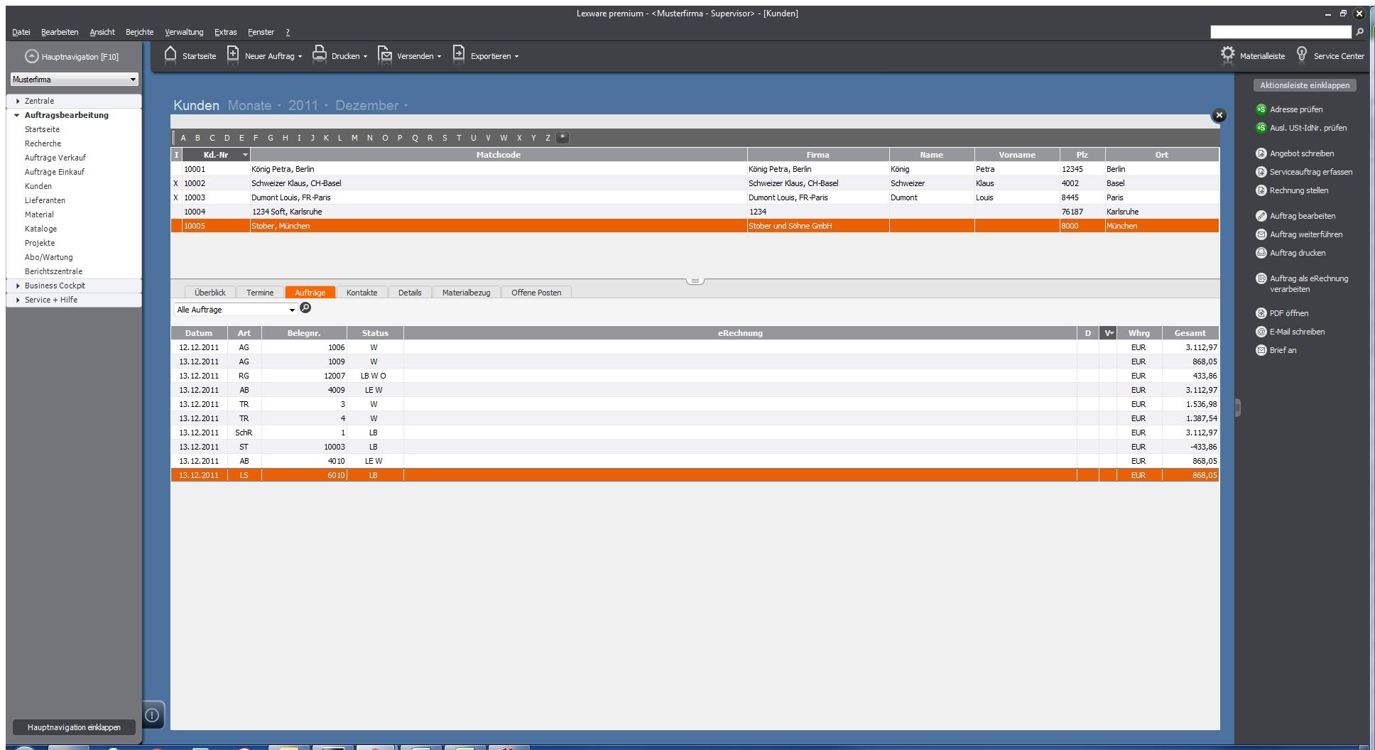 Handwerkersoftware Test Lexware Handwerk Premium